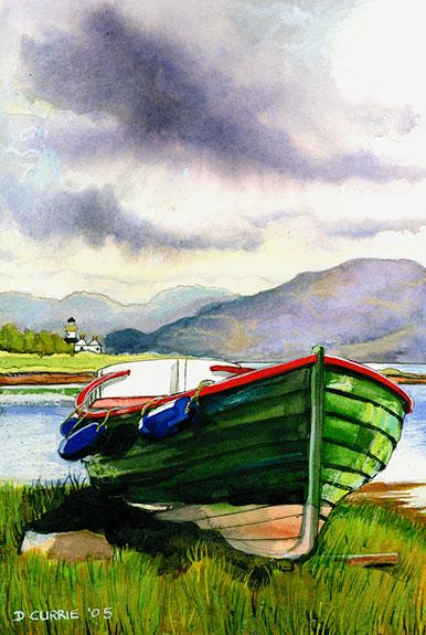 Boat-at-Isle-Ornsay