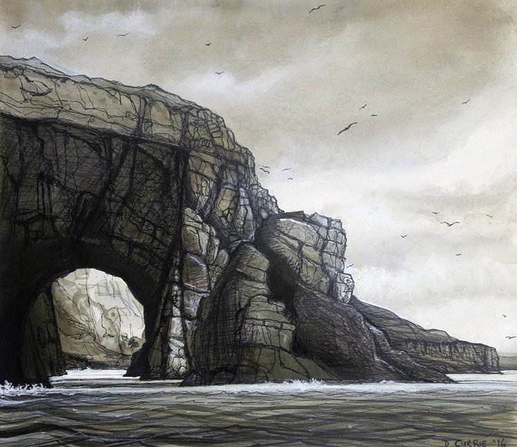 Natural-arch-Loch-bracadale