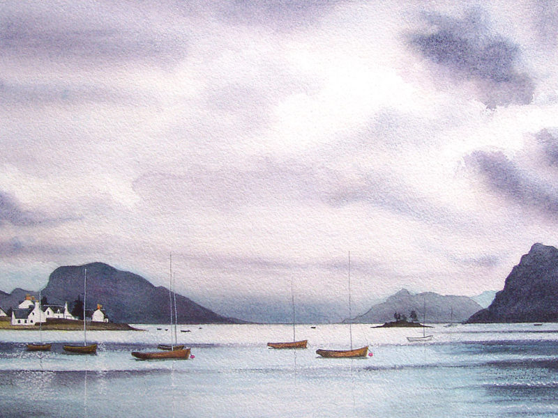 Plockton-view-A3-print-less-purple
